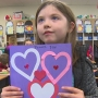 Students craft hundreds of Valentine's Day cards for local veterans