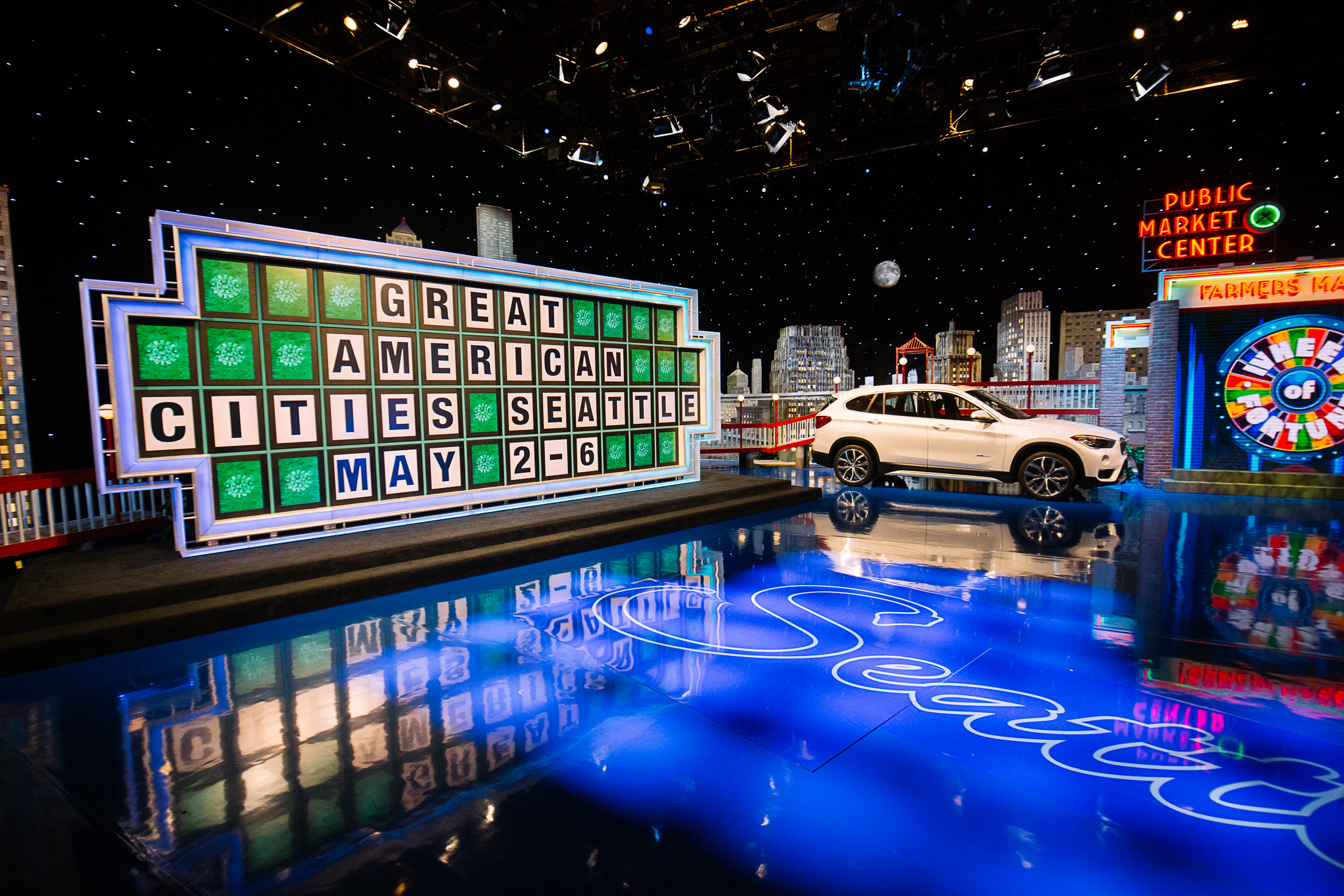Wheel Of Fortune Gets Seattle Ized For Great American